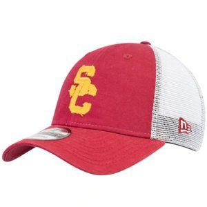Men's New Era Cardinal USC Trojans Team HAT